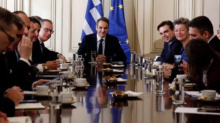 Έκκληση Μητσοτάκη στην ΕΕ: Η Ελλάδα στηρίζεται στην ευρωπαϊκή αλληλεγγύη για να αντιμετωπίσει το μεταναστευτικό-προσφυγικό