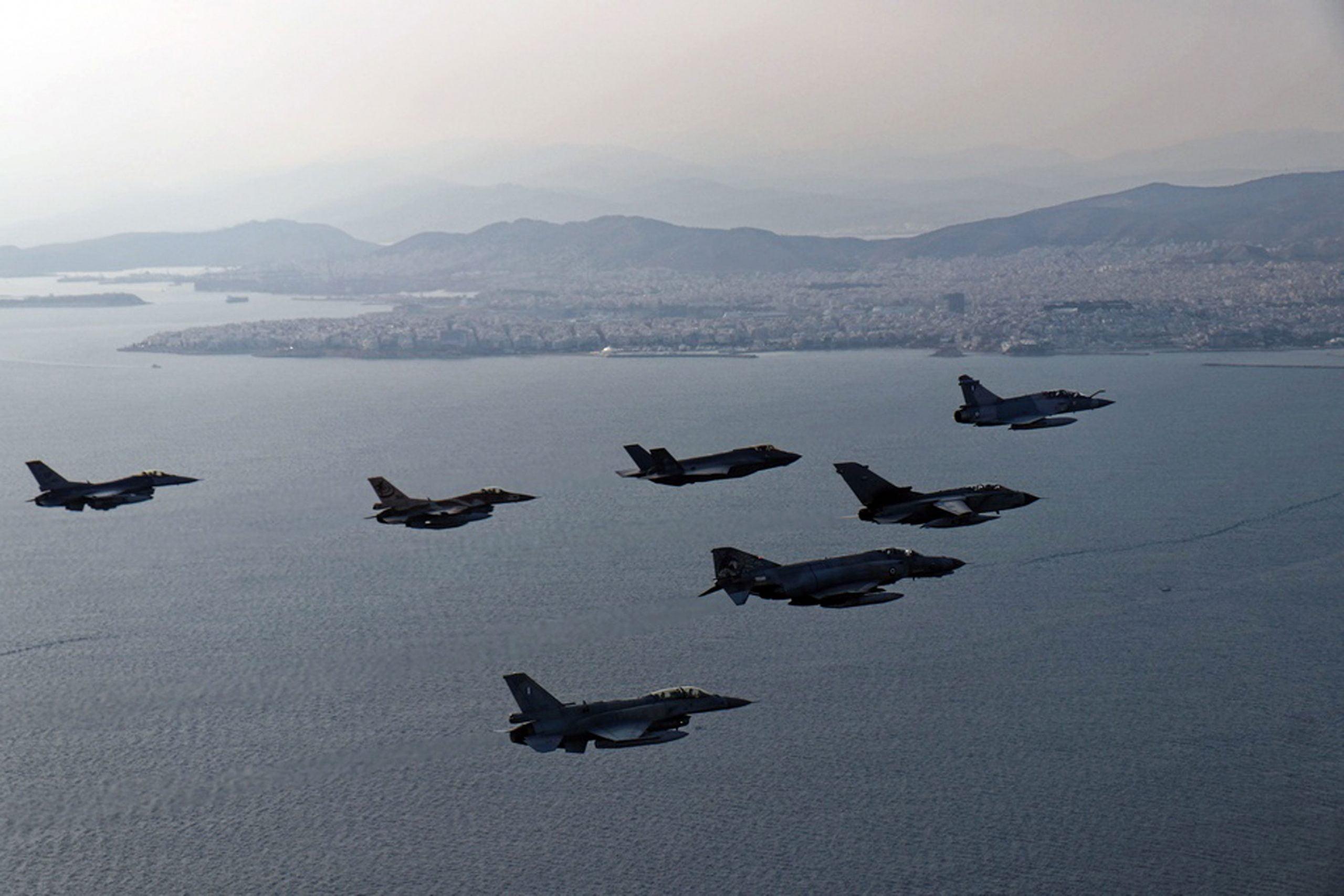 Ενεργή η παρουσία του Ισραήλ στη Μεσόγειο – Ισχυρή υποστήριξη του Τελ Αβίβ στις Ελληνικές θέσεις – To μήνυμα που έστειλαν στην Άγκυρα ισραηλινά αεροσκάφη