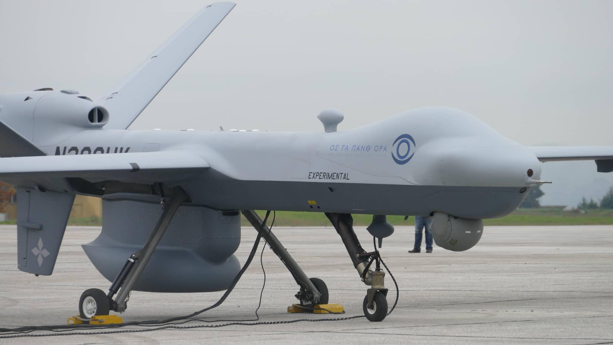 Ιδού το πρώτο drone της Πολεμικής Αεροπορίας – Επίδειξη στη Λάρισα σε τέσσερα σενάρια