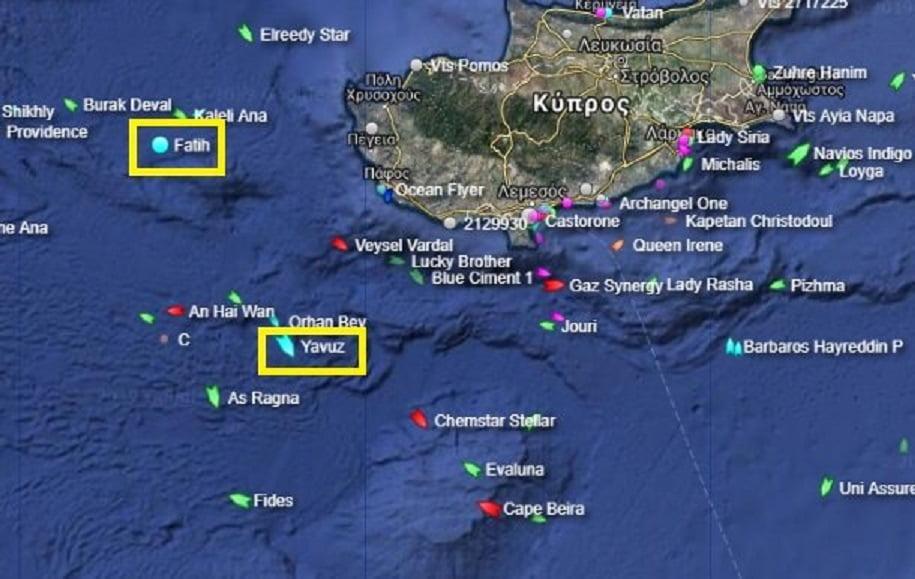Αποχώρησε από το τεμάχιο 7 της κυπριακής ΑΟΖ χωρίς επιτυχία το τουρκικό γεωτρύπανο Γιαβούζ