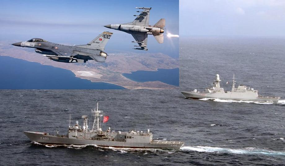 Ο μισός Τουρκικός στόλος σε Αιγαίο και Νότια της Κρήτης -Με νέο ρεκόρ υπερπτήσεων η Άγκυρα δοκιμάζει τις Ελληνικές αντοχές