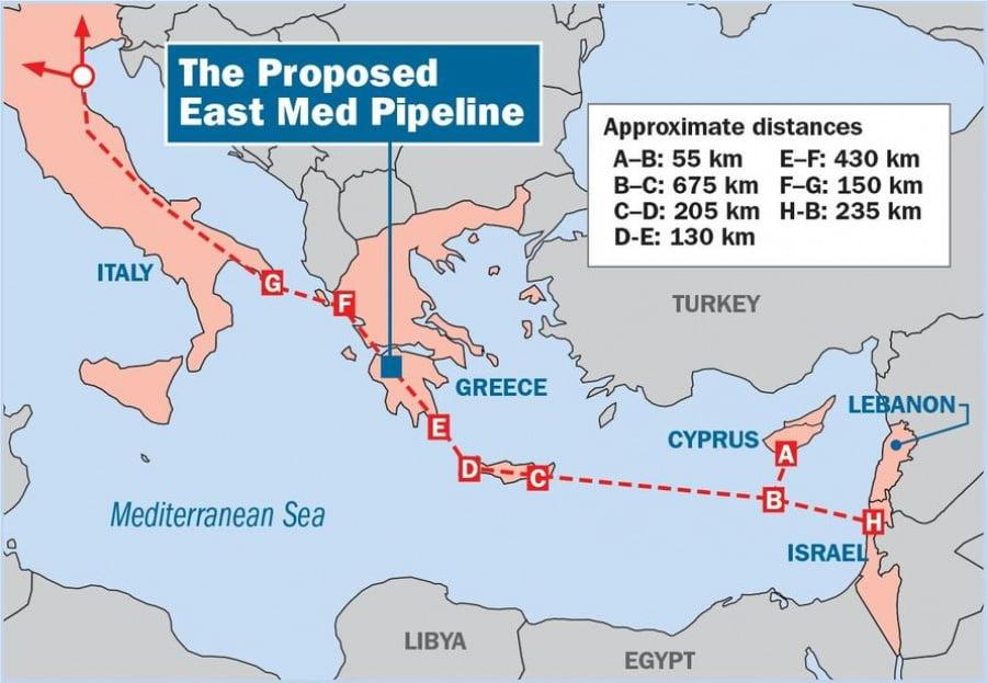 Συντονισμός των «7» του East Med Gas Forum στο Κάιρο για ενεργειακά