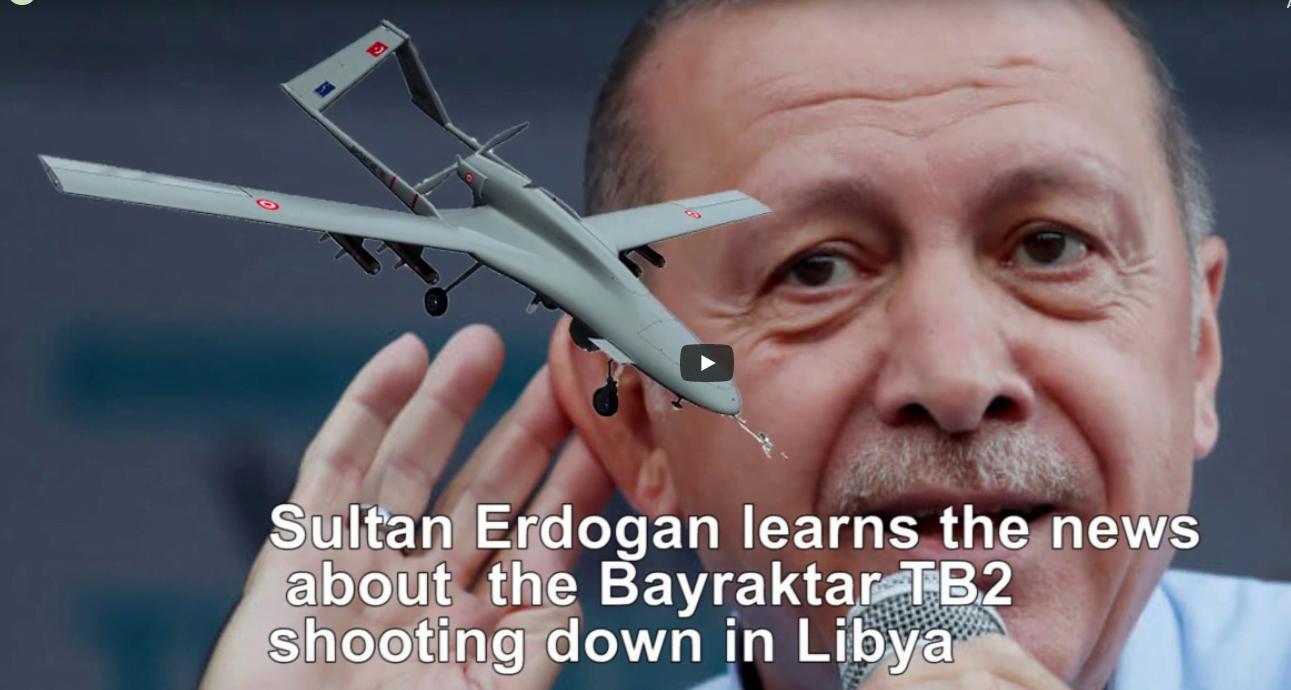Ανελέητο τρολάρισμα  Χάφταρ σε Ερντογάν  – Ο Ερντογάν μαθαίνει για την κατάρριψη του Bayraktar