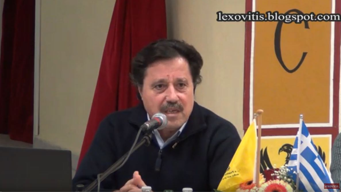 """Ο Σ. Καλεντερίδης και Γ. Ρακκάς για το """"Προσφυγικό-Μεταναστευτικό"""" σε εσπερίδα που έγινε στο Αμύνταιο"""