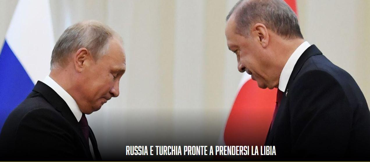 """Ιταλός αναλυτής: """"Η Ρωσία και η Τουρκία έτοιμες να πάρουν τη Λιβύη"""" – Πώς πάει, καλά ο ύπνος στην Αθήνα;"""