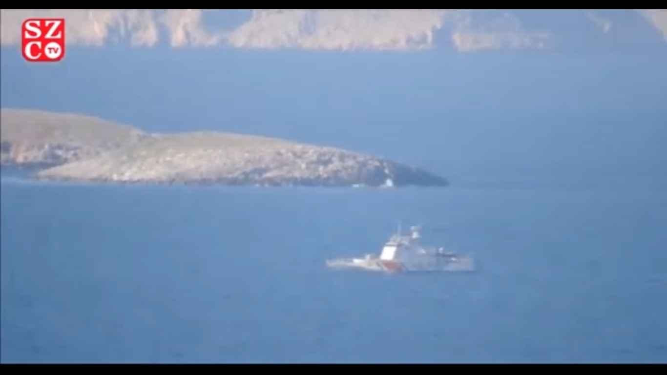 """Δείτε το βίντεο που δίνει η Sözcü από τo """"επεισόδιο"""" στα Ίμια! (vid)"""