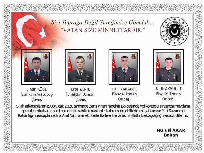 Επίθεση των Κούρδων της Συρίας με 4 Τούρκους στρατιώτες νεκρούς και… πολλούς αποδέκτες