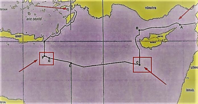 Κι όμως, οι τουρκικοί χάρτες, ελλείψει ελληνικών, δημιουργούν τετελεσμένο