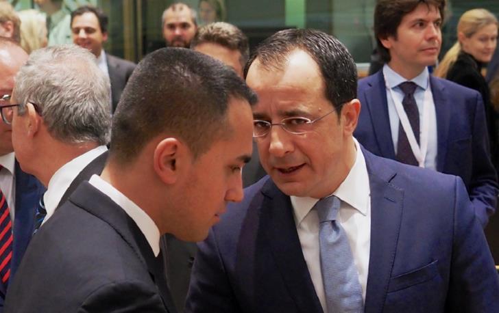 Στη Ρώμη για το τεμάχιο «8» ο ΥΠΕΞ της Κύπρου – Επαφές με Ντι Μάγιο-Ντεσκάλτζι