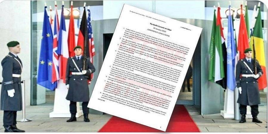 Νέα διαρροή του προσχεδίου συμπερασμάτων της Διάσκεψης του Βερολίνου