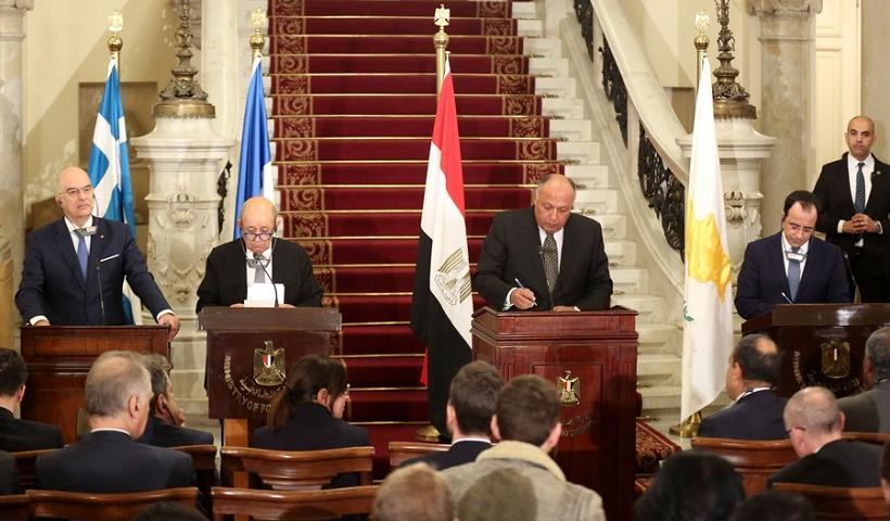 Η Αίγυπτος ανακοίνωσε την δημιουργία διεθνούς αντι-τουρκικής συμμαχίας