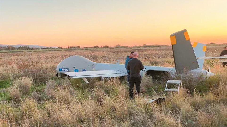 Έπεσε το drone της FRONTEX! Έρχονται μετανάστες