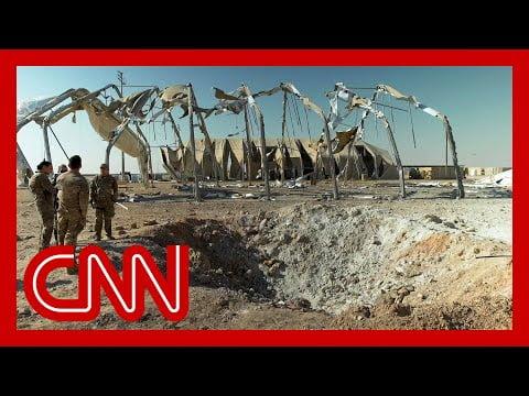 Συνέπειες της επίθεσης των ιρανικών πυραύλων στην αεροπορική βάση του Al-Asad (vid)