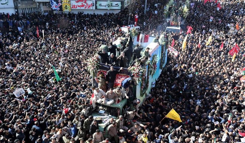 Τραγωδία στο Ιράν με δεκάδες νεκρούς στην κηδεία του Σουλεϊμανί (βίντεο)