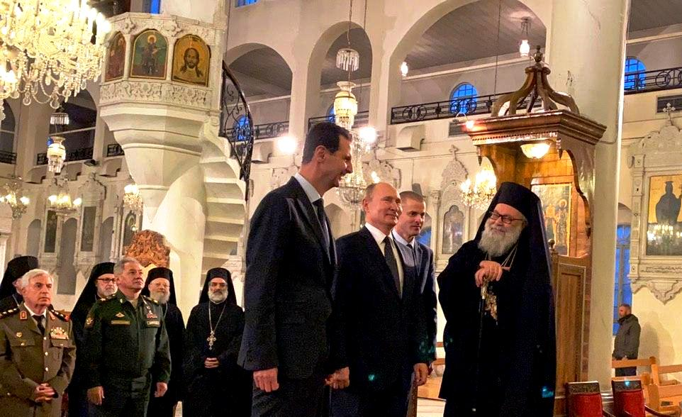 Επίσκεψη Πούτιν στις ρωσικές δυνάμεις στη Συρίας- Συνάντηση με Άσαντ
