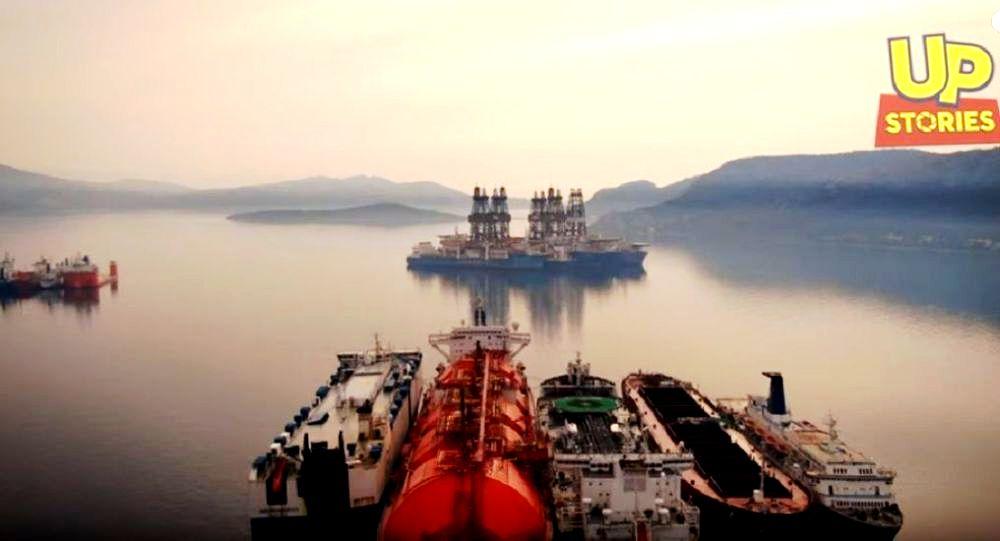 Η μάχη των υδρογονανθράκων. Τα 7 γιγάντια παροπλισμένα πλωτά γεωτρύπανα στον κόλπο της Ελευσίνας.
