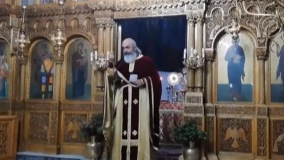 Ιερέας στις Σέρρες «κατακεραυνώνει» φιλοσκοπιανούς προπαγανδιστές