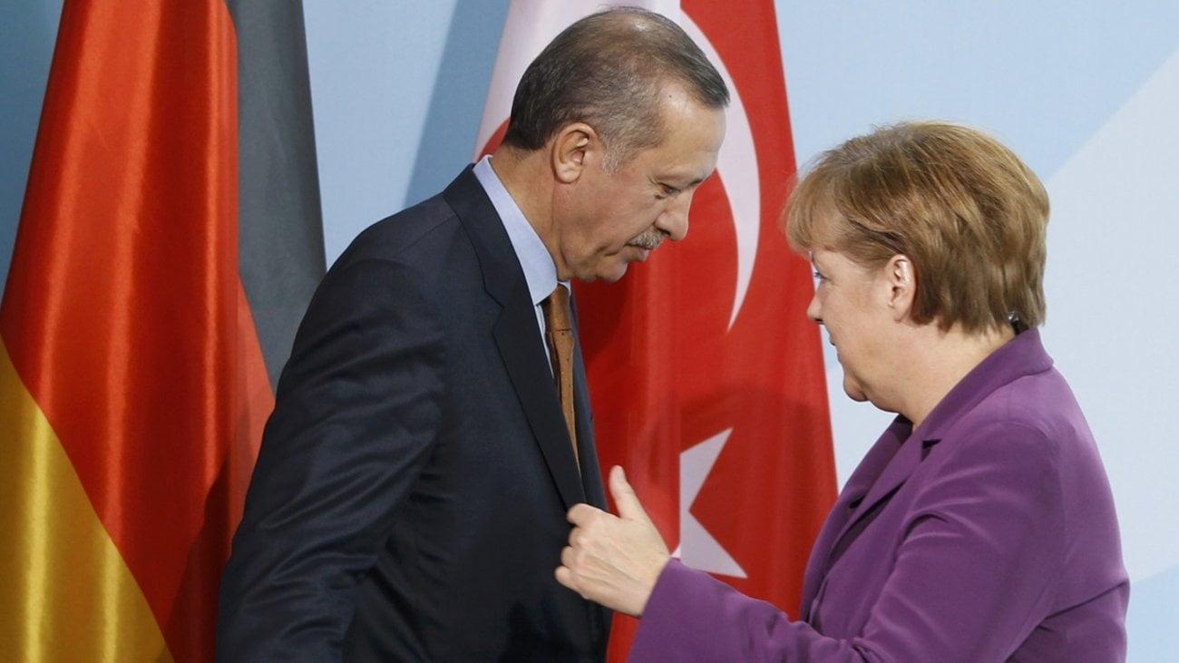 Στην Κωνσταντινούπολη η Μέρκελ στις 24 Ιανουαρίου – Συνάντηση με Ερντογάν