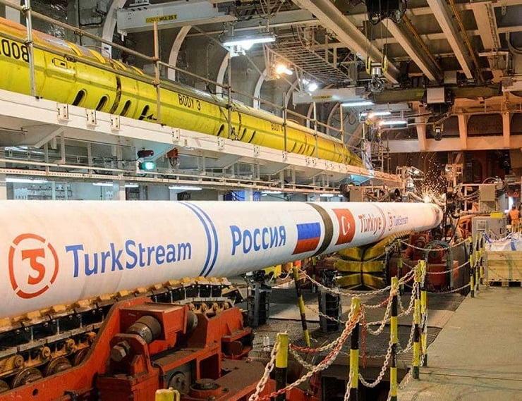 Η Ελλάδα ξεκίνησε την προμήθεια αερίου από τον TurkStream