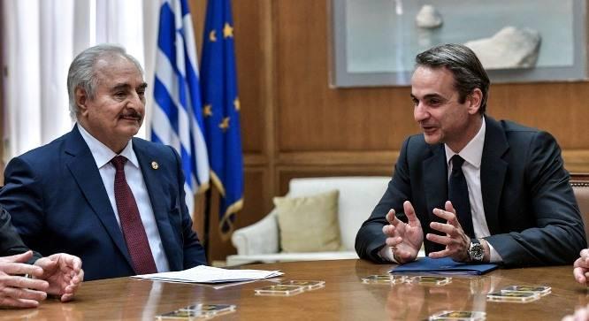Τι είπαν πίσω από τις κλειστές πόρτες Μητσοτάκης και Χάφταρ – «Αρνητική η παρέμβαση της Άγκυρας» – «Άκυρες οι συμφωνίες Τουρκίας – Λιβύης»