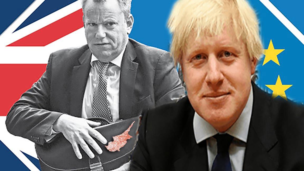 Ο Αρχι-διαπραγματευτής του Brexit 2020  ο ίδιος σχεδιαστής «Δύο Κρατών» στην Κύπρο το 1990