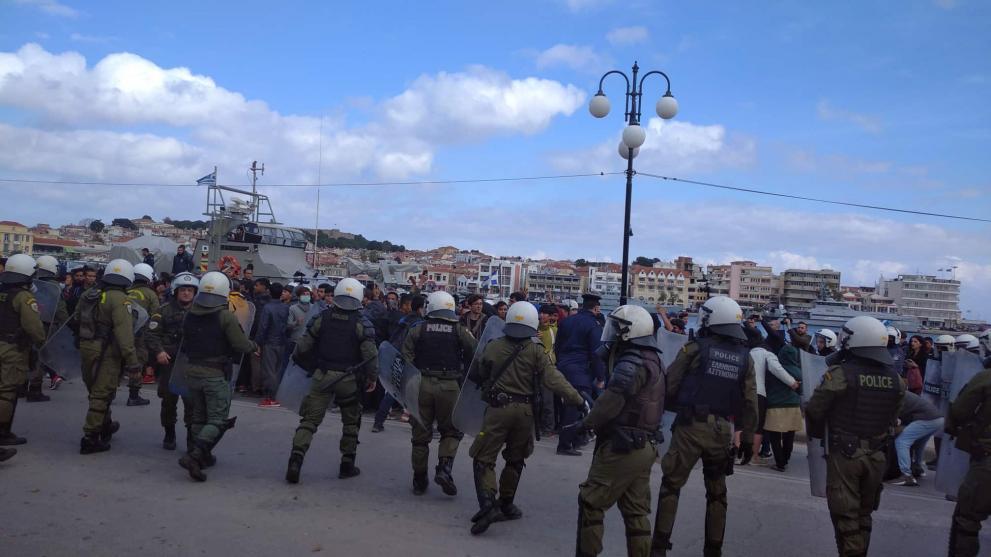 Σε κατάσταση πολιορκίας η Μυτιλήνη – Μέτρο… καλόπιασμα από την κυβέρνηση