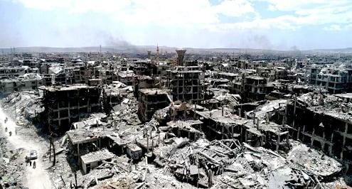 Η συριακή αεράμυνα απώθησε «εχθρικούς στόχους» πάνω από τη Δαμασκό – Βίντεο