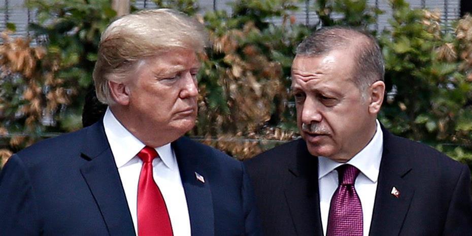 Επικοινωνία Τραμπ – Ερντογάν για το Ιντλίμπ: Τι συζήτησαν