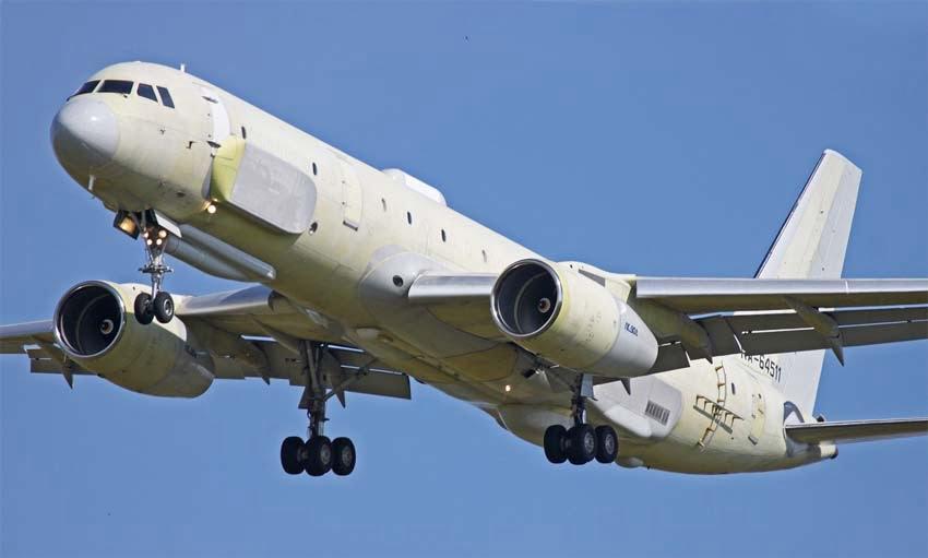 Το πιο προηγμένο αεροσκάφος συλλογής πληροφοριών της Ρωσίας, Tu-214R, στους ουρανούς του Ιντλίμπ