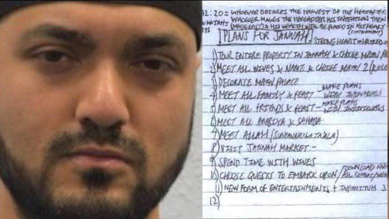 Πιο χαζός πεθαίνεις! Ιδού η λίστα επιθυμιών ενός τζιχαντιστή αφού σκορπίσει τον θάνατο σε επίθεση αυτοκτονίας