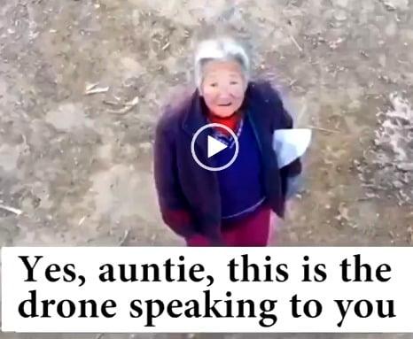 Κορωνοϊός: Drones στέλνουν σπίτι τους πολίτες που δεν φορούν μάσκα – Δείτε το βίντεο