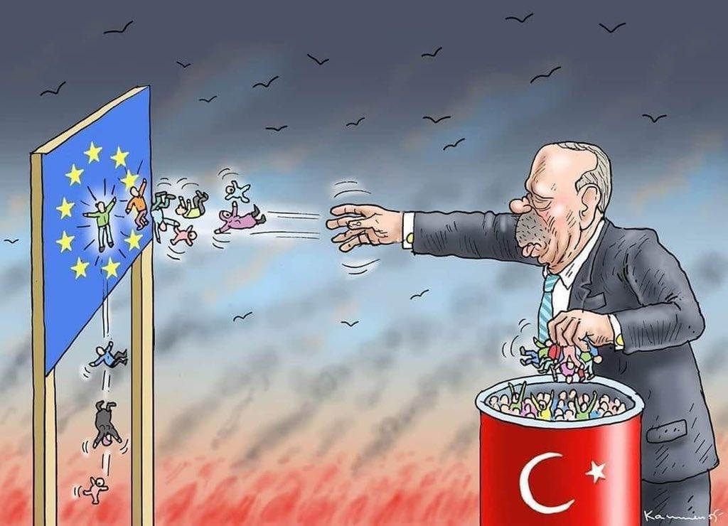 Η Τουρκία πυροδοτεί νέα προσφυγική κρίση η οποία θα μπορούσε να σημάνει το τέλος της Ευρωπαϊκής Ένωσης
