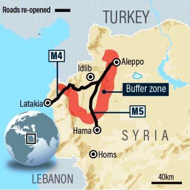 Οι Σύροι αντάρτες στέλνουν εκατοντάδες μαχητές καμικάζι και βόμβες παγιδευμένα αυτοκίνητα υπό τη κάλυψη του τουρκικού πυροβολικού και τεθωρακισμένων οχημάτων για να ανακαταλάβουν τη στρατηγική πόλη Σαρακίμπ