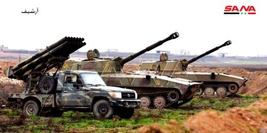 Ο Συριακος Αραβικός Στρατός ανταποκρίνεται σε επίθεση εναντίον της Σαρακίμπ και προκαλεί βαριές απώλειες στους τρομοκράτες