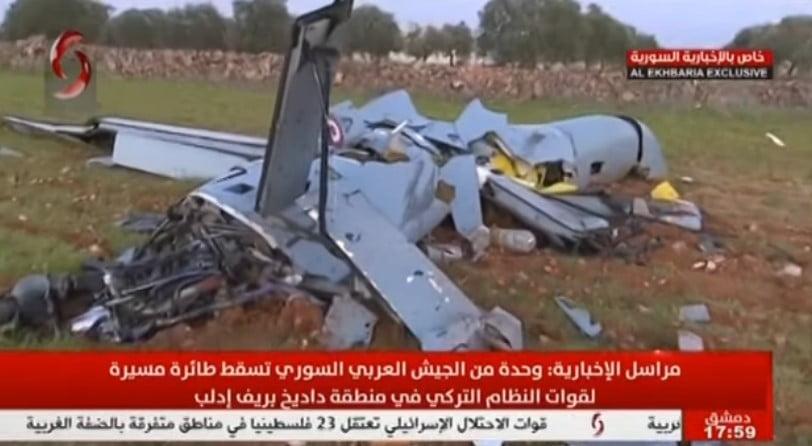 Δείτε το βίντεο με το τουρκικό UAV ANKA, που κατέρριψαν οι Σύριοι στο Ιντλίμπ