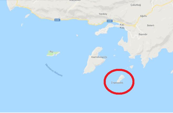 Η Αγκυρα προκάλεσε σοβαρό επεισόδιο στη νήσο Στρογγύλη