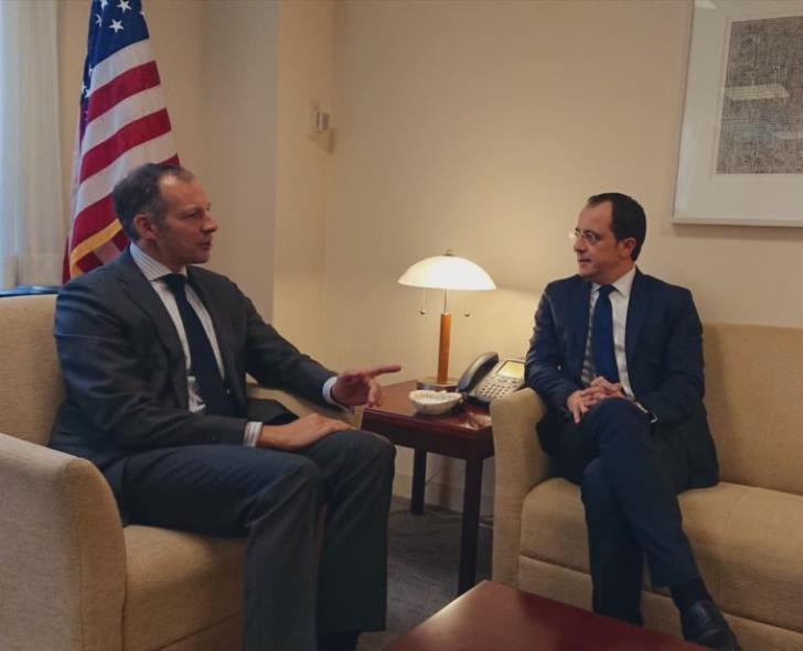 Υφ. ΥΠΕΞ για θέματα ενέργειας Φάνον από Λευκωσία: Oι ΗΠΑ δεσμευμένες σε ανώτατο επίπεδο στα ενεργειακά της Κύπρου