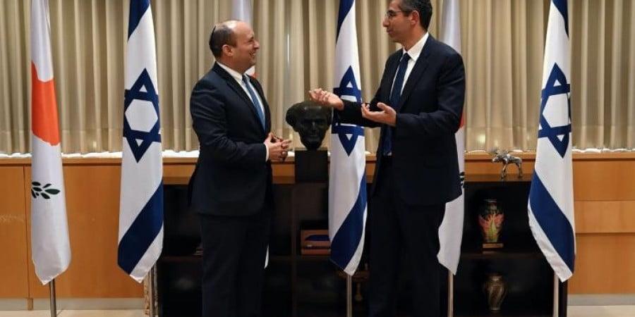 Οι Υπουργοί Άμυνας Κύπρου και Ισραήλ συζήτησαν τις εξελίξεις στην περιοχή