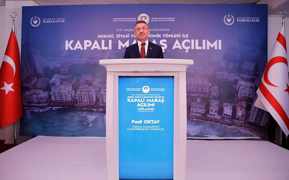 Προκλήσεις Οκτάι στα Κατεχόμενα: «Ανοίξει το Βαρώσι, είναι τουρκοκυπριακό έδαφος»