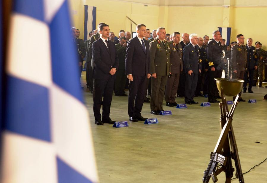 Η Ελλάδα αποτελεί νησίδα ασφάλειας, γέφυρα που ενώνει φίλους και συμμάχους, δήλωσε ο Α/ΓΕΕΘΑ