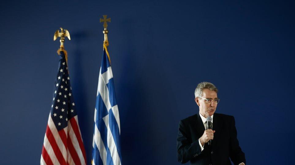 Τζέφρι Πάιατ: Οι ΗΠΑ δεσμεύονται για την ασφάλεια της Ελλάδας – Η Κρήτη έχει πλήρη ΑΟΖ