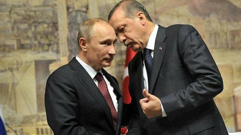 Ο Πούτιν υπογράμμισε στον Ερντογάν την σημασία της διατήρησης της Σύμβασης του Μοντρέ