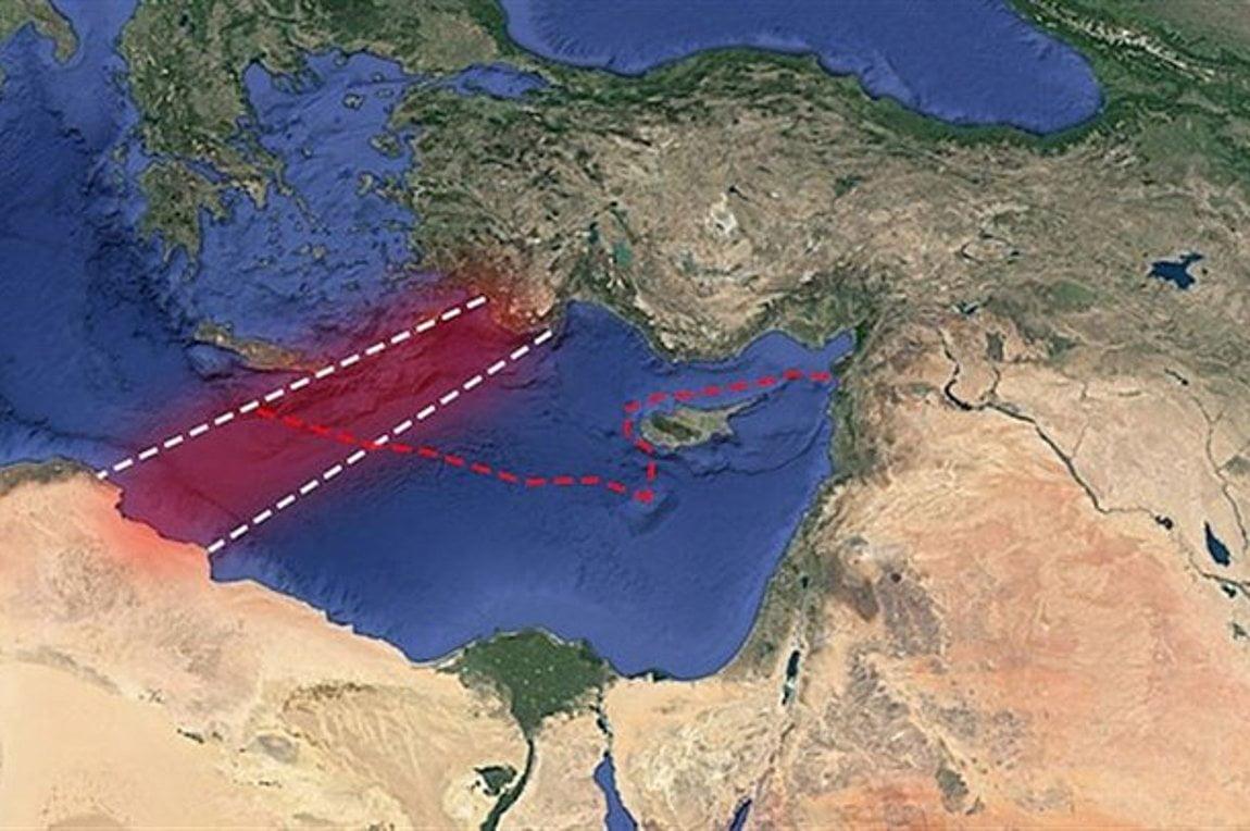 Αναρτώνται οι συντεταγμένες ΑΟΖ, Τουρκίας και Λιβύης από τον ΟΗΕ