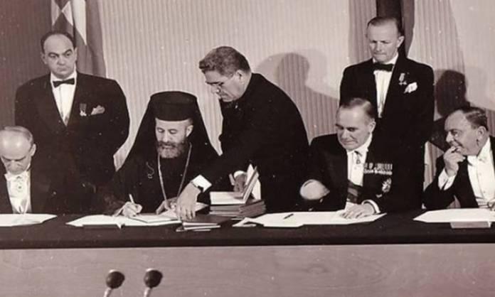 19 Φεβρουαρίου 1959: Υπογράφεται το δεύτερο σκέλος των συμφωνιών Ζυρίχης – Λονδίνου