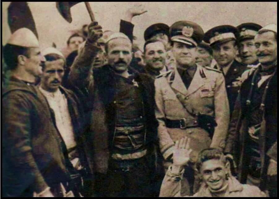 Η συνεργασία των Τσάμηδων με τους Ιταλούς κατά της Ελλάδος