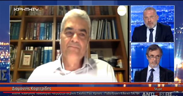 Με το Γιώργο Σαχίνη: Κορωνοιός – Covid 19: Η Κρίσιμη Καμπή Παγκόσμια και η Ελλάδα