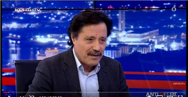 """Ο Σάββας Καλεντερίδης αναλύει την κρίση στον Έβρο στην εκπομπή """"Αντιθέσεις"""" του Γιώργου Σαχίνη"""