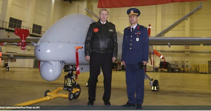 Μια νέα απειλή – Πώς τα τουρκικά drones του Ερντογάν «σαρώνουν» Έβρο, Αιγαίο, Συρία, Λιβύη και Ιράκ
