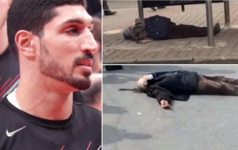 Τουρκία: Ανατριχιαστικό βίντεο με ανθρώπους να καταρρέουν στη μέση του δρόμου