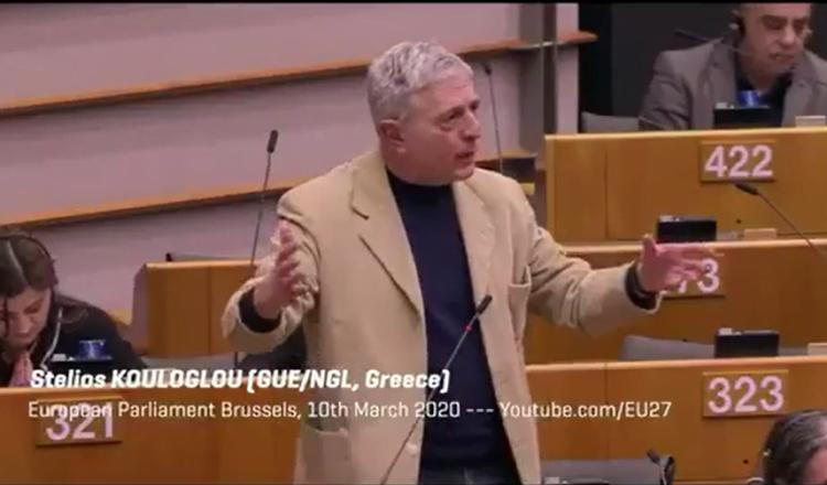 Ο Πολωνός ευρωβουλευτής υπερασπίζεται την Ελλάδα και ο Έλληνας….